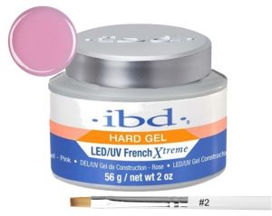 IBD ŻEL FRENCH XTREME PINK LED/UV 56g. + PĘDZELEK