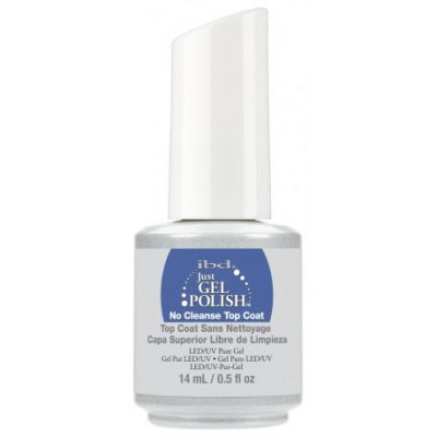 IBD JUST GEL POLISH NO CLEANSE TOP 14ml NO WIPE